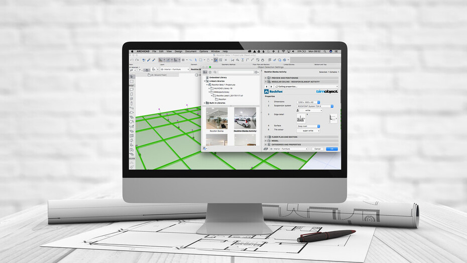 BIM objects for optimising building design | Rockfon