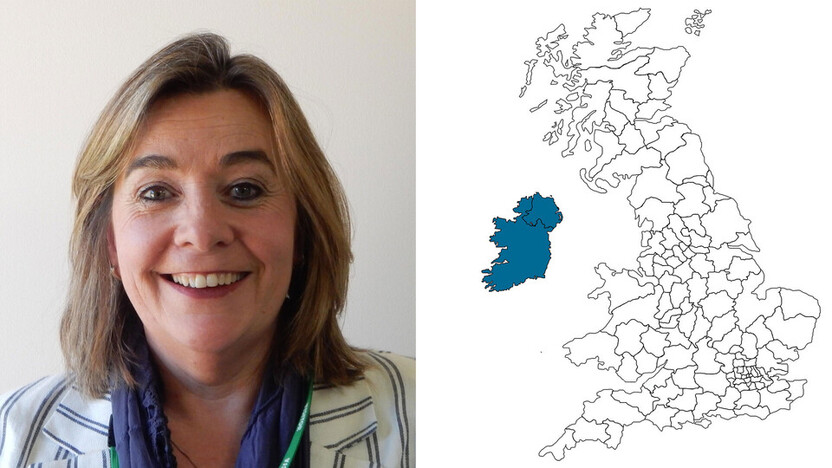 contact person, specification, profile and map, Deirdre Mulvaney, UK