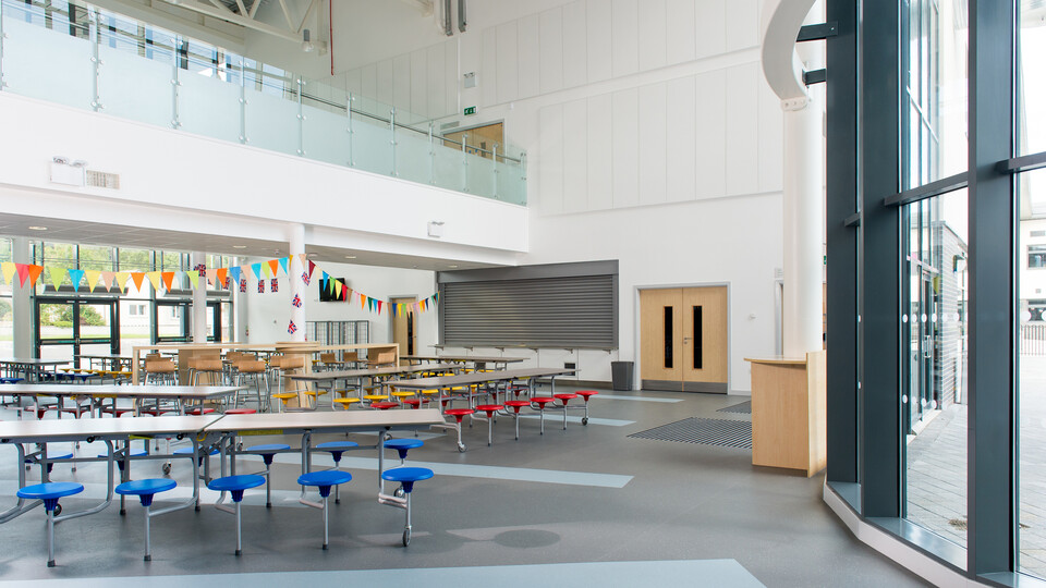 Featured products: Rockfon® Scholar™ wall panel, A24, 2400 x 600