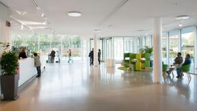 Kristallen - Kommunhuset i Lund, Sweden, Lund, 12500 m2, Christensen & Co Arkitekter A/S, Lundafastigheter, Intermontage i Bromölla, Svend Christensen, Sonar, E-mono-edge