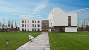 Jægersborghave, Denmark, Gentofte, 5.000 m2 Sonar X + Mono Acoustic E, Entasis, MOE A/S, FK Ejendomme, HHM, Nibe Fotograferne, White, Exterior