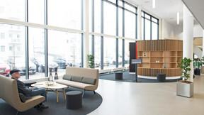 Fremtidens Plejehjem, Denmark, Nørresundby, 2500 m2, Nørkær+Poulsen og Østergaard Arkitekter, Svend Christensen, Sonar, X-edge, 600 x 600 x 22, White