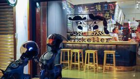 Mikkeller - Taipei,China,Taipei,Keng Yu Design Office,Rockfon Eclipse,B-edge,1160mmx1160mm,white