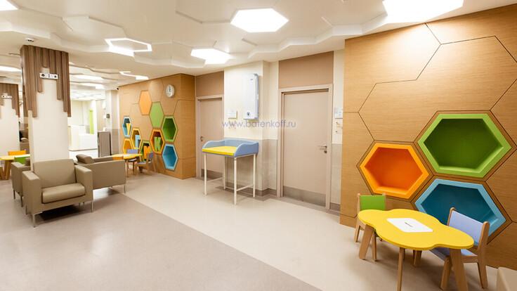 contest contribution - Concept-of-Ceiling_Medical Center - Ekaterinburg, Rockfon, RU